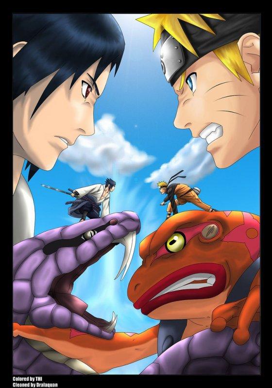 Sasuke contre naruto naruto akkipuden - Naruto akkipuden ...